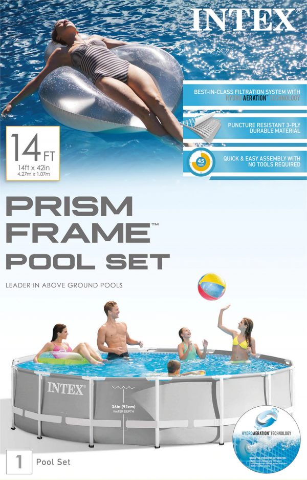 Set de Piscina: Intex® Prism Frame ™ 14ft x 42in